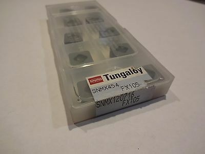 Tungaloy SNMX 454 (120716) FX105 Ceramic Inserts (LOT OF 10)