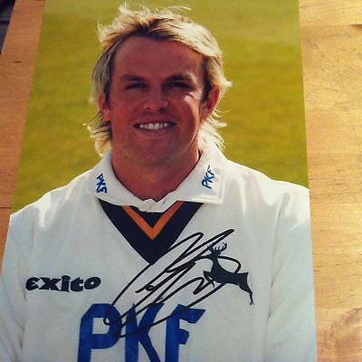 GREAME SWANN ( ENGLAND ) signed autographed 12x8 photo signed