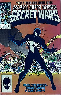 Marvel Super Heroes Secret Wars # 14 Lo ! Spidey's New Costume ! FREE SHIPPING