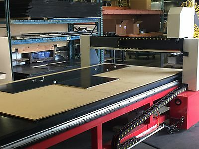 Industrial CNC Router 5' x 10' Craftsman 510 w / Vacuum System