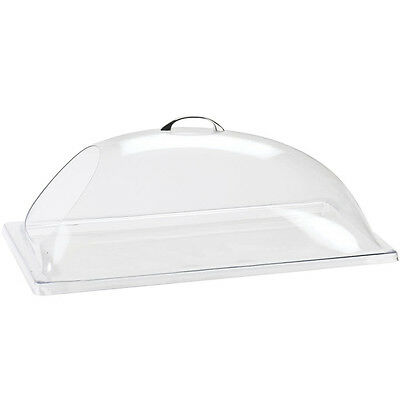 "4x Cal-Mil 322-12 Classic Dome Display Cover with Single End Cut Out 12""x20""x7.5"