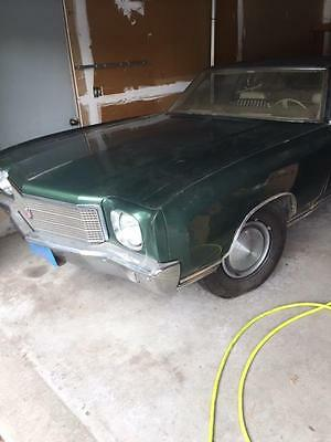 "1970 Chevrolet Monte Carlo  1 driver, 21k miles, lowest you""ll find, 350 motor,EVERYTHING ORIGINAL"
