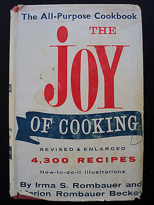 The Joy Of Cooking; 4,300 Recipes by Irma S Rombauer (Hardcover 1969)