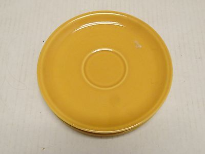 LOT OF 3  Vintage Iroquois Interplay SAUCERS- Syracuse Pottery