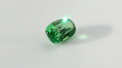 3 cts Tsavorite Garnet - GIA certified - Chrome Green - VVS clarity