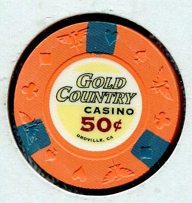 Gold Country 50c Oroville CA  g58964 Additional Chips Ship for 25c !