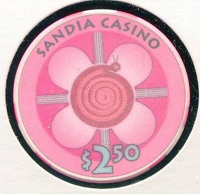 Sandia $2-50 ABQ NM   CG10739-  Additional Chips Ship for 25c !
