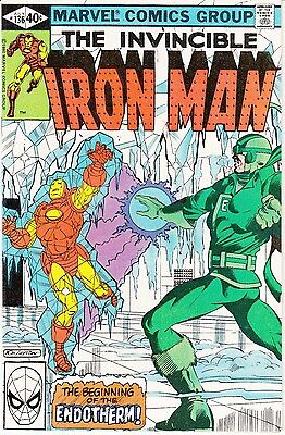 Iron Man #136 (Jul 1980, Marvel) Endotherm