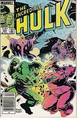 The Incredible Hulk #304 (Feb 1985, Marvel)