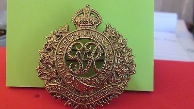 Royal Canadian Engineers Hat Badge