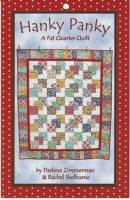 HANKY PANKY QUILT PATTERN, From Needlings, Inc. NEW
