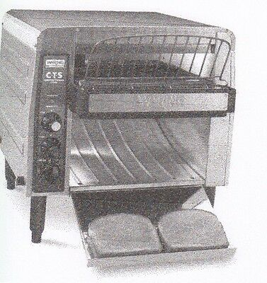 Waring CTS1000 Commercial Stainless Steel Heavy Duty Conveyor Toaster New In Box