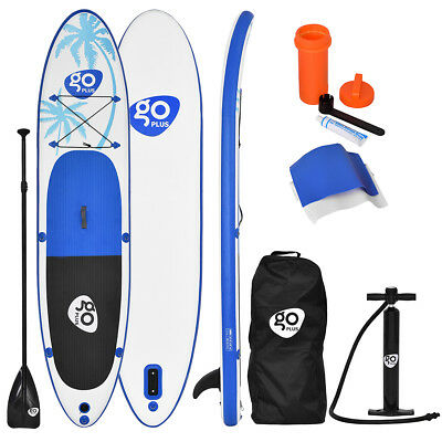 Inflatable Surfing Board Soft Surf Stand Up Paddle Board W/ Package 330x76x15CM