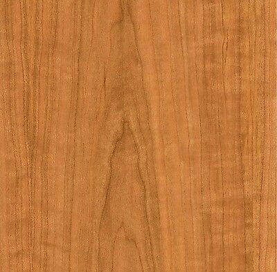 Cherry Wood Veneer Sheet 2' x 8' with PSA on smooth Paper Backer - Plain Sliced