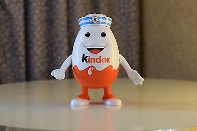 "Rare Kinder Surprise Egg Jumbo Large Big 9.5"" Empty Sailor Mascot Doll"
