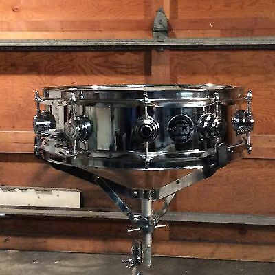 Dw Crome Over Brass Snare Drum 4X14 Super Clean, May 1999