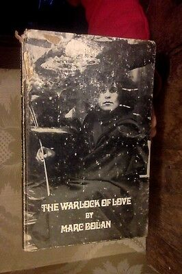 The Warlock Of Love by Marc Bolan, T. Rex Poetry Book