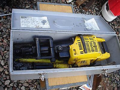Atlas Copco PIC014 hammer drill gas powered in case