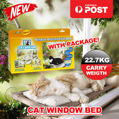 Comfortable Cat Window Mounted Bed Pets Sunny Wall Home Hammock Cover Washable