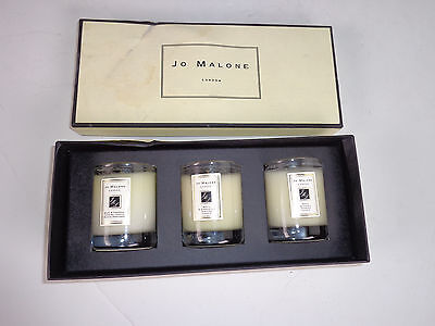Jo Malone London Scented Travel Candle Collection Set of Three (3) Basil