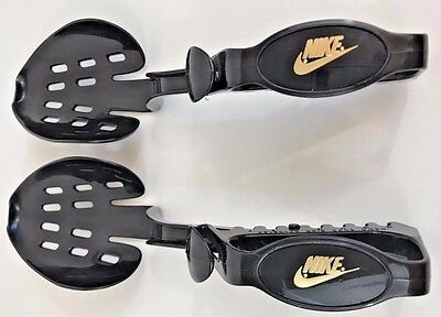 2Vintage Nike Logo Shoe Tree - Black Plastic - Adjustable From Size 7 To Size 13
