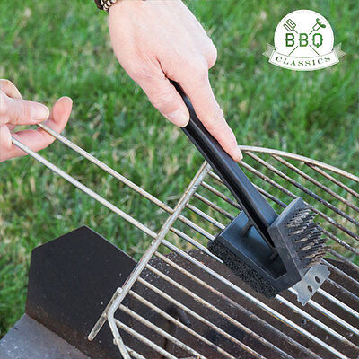 BBQ Classics 3 in 1 Barbecue Cleaning Brush
