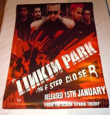 LINKIN PARK~Hybrid Theory~24x36~Original Promo Poster~NM Condition