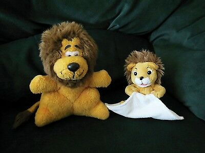 Rare Tour de France Plush Lions (Small) ~ Lion du Crédit Lyonnais ~ Genuine
