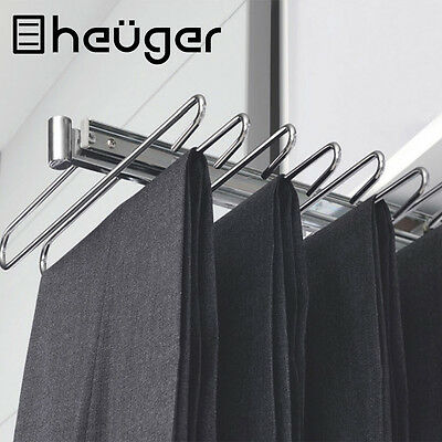 Slide Out Trousers Pants Scarf Coat Hanger – Top Mounted Closet Organiser