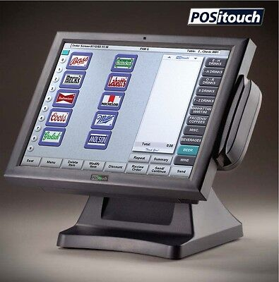 POS System POSiTouch Restaurant / Bar Complete System Just Pulled From Service