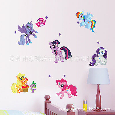 My Little Pony Removable Wall stickers Decal Kids Girls Decor Home Mural Art