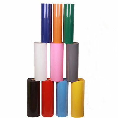 T-Shirt Heat Transfer Vinyl PU Film For Garment Textile Graphics 5 Colors