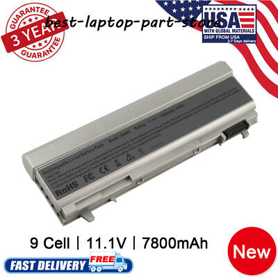 For Dell Latitude E6400 E6500 E6410 E6510 9-Cell Battery 4M529 F8TTW