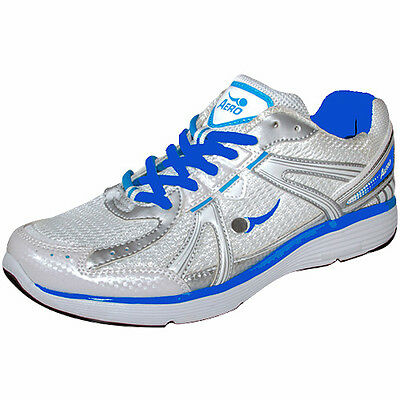 "Aero/comfitpro  Ladies ""sprint"" Bowls Shoe White/blue."