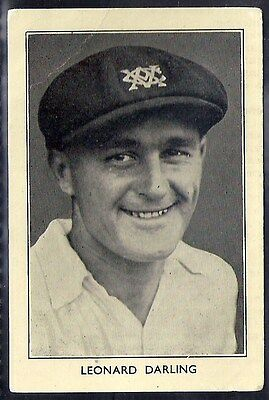 Amalgamated Press-Australian & English Cricket Stars-#31- Darling