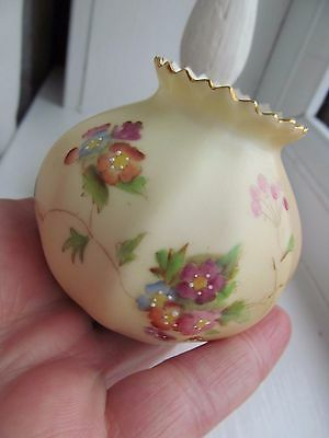Beautiful Small Piece Of Royal Worcester 1 0F 3
