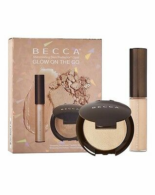 Becca Cosmetics Shimmering Skin Perfector Opal Glow On The Go Collection- BNIP