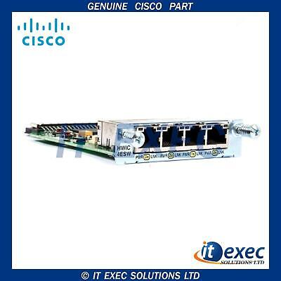 Cisco VWIC2-2MFT-T1/E1 CCNA CCNP CCIE Voice and Collaboration Lab