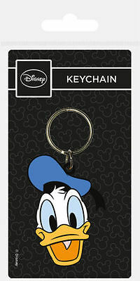 Donald Duck (Head) Rubber Keychain / By Pyramid