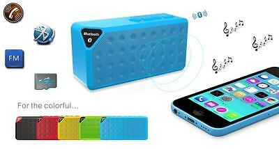 Mini Enceinte Speaker Bluetooth Mp3 Usb Portable Pour Iphone, Samsung, Nokia,...