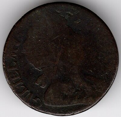 1698 William III Halfpenny***Collectors***(W1)