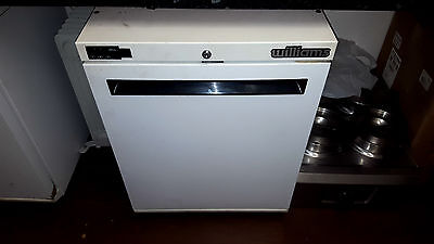 Williams White Single Door Undercounter Freezer Refrigerator Commercial Catering
