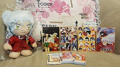 Inuyasha Plush with Stickers and Cards!!!