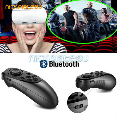 VR BOX Virtual Reality 3D Glasses Games Bluetooth Remote Control For Smartphone
