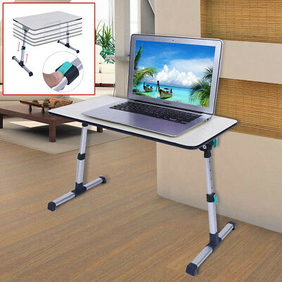 Adjustable Height Laptop Stand Desk Computer Table for Sofa Breakfast Bed Tray
