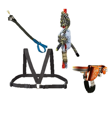 Hitch Hiker SRT Climbing Kit includes Chest Box, Carabiners