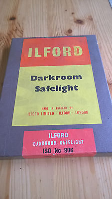 Made in England Ilford Darkroom Safelight ISO No 906