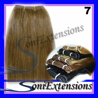 EXTENSIONES CORTINA,50gr REMY-RUBIO, Nº7+CLIPS o Anillas
