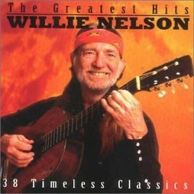 WILLIE NELSON THE GREATEST HITS 38 Timeless Classics 2 CD NEW