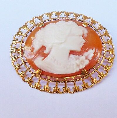Broche Came Or 18K